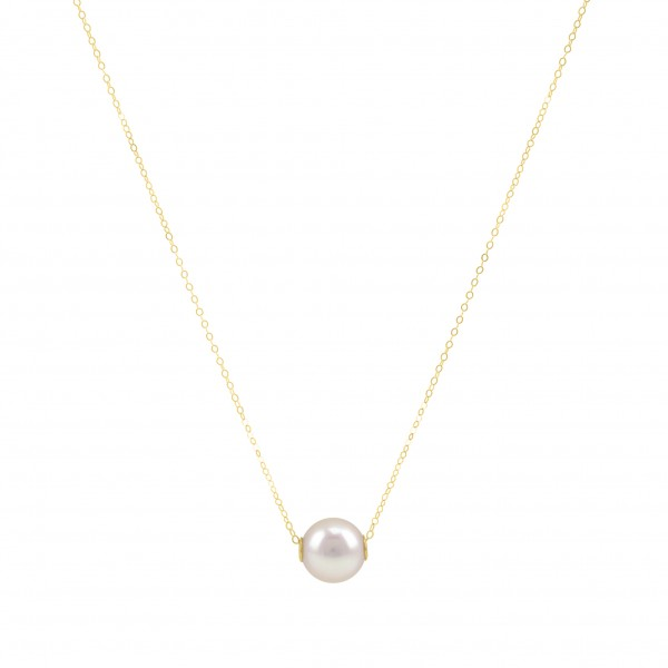 """Perlenkette Collier 18K Gold """"Mary"""""""