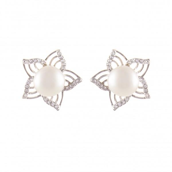 """Perlenohrstecker 925 Silber """"Lilly"""""""